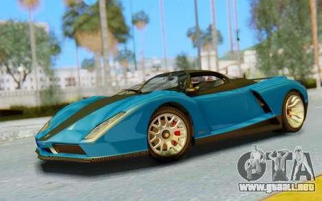 GTA 5 Grotti Cheetah SA Lights para GTA San Andreas