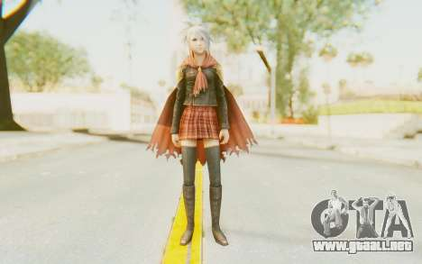 Final Fantasy - Type 0 Sice para GTA San Andreas segunda pantalla