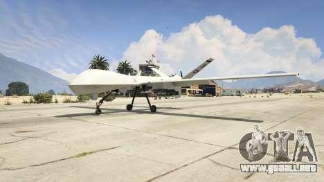 GTA 5 MQ-9 Reaper UAV 1.1