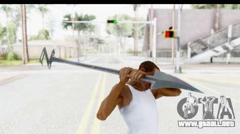 Lord Zedd Weapon para GTA San Andreas tercera pantalla