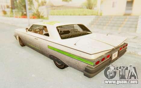 GTA 5 Declasse Voodoo PJ SA Lights para la vista superior GTA San Andreas