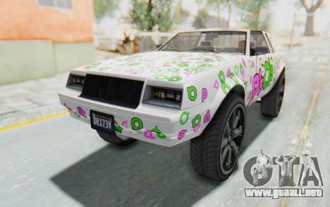 GTA 5 Willard Faction Custom Donk v3 para el motor de GTA San Andreas