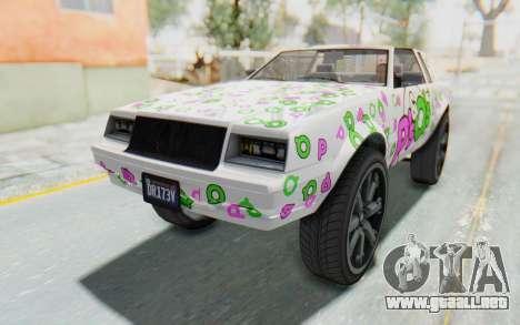 GTA 5 Willard Faction Custom Donk v2 para las ruedas de GTA San Andreas