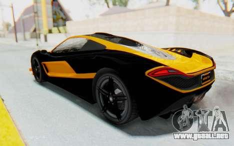 GTA 5 Progen T20 Devil PJ para las ruedas de GTA San Andreas