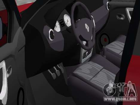 Renault Logan para GTA Vice City vista lateral izquierdo