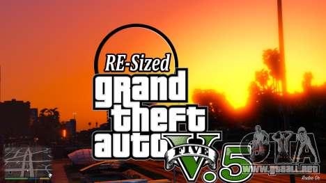 GTA V RE-Tamaño de la V5.5 ( Estable ) para GTA 5