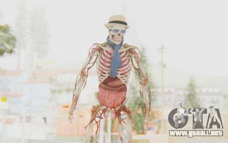 Skeleton with Hat and Glasses para GTA San Andreas