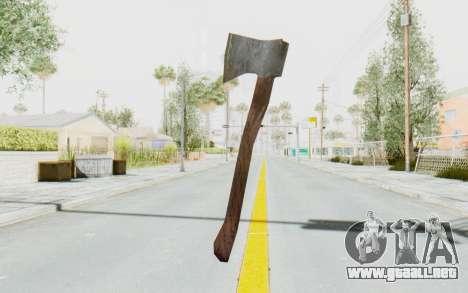 CoD Ghosts DLC Michael Myers Weapon para GTA San Andreas tercera pantalla