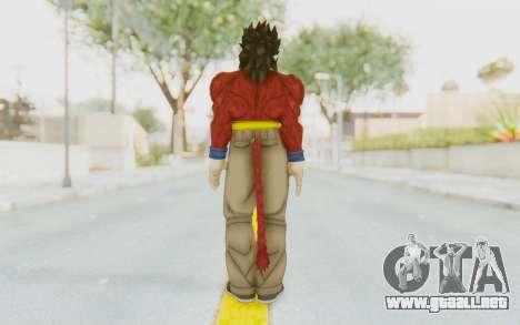 Dragon Ball Xenoverse Gohan SSJ4 para GTA San Andreas tercera pantalla