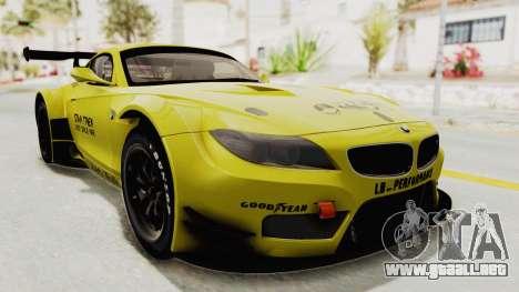 BMW Z4 Liberty Walk para la visión correcta GTA San Andreas