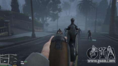 GTA 5 Zombies 1.4.2a tercera captura de pantalla
