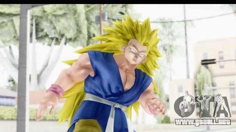 Dragon Ball Xenoverse Goku GT Adult SSJ3 para GTA San Andreas
