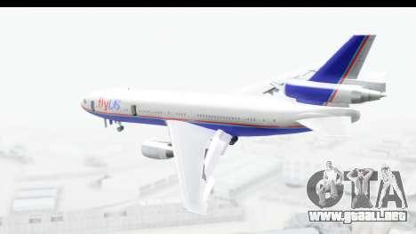 DC-10 Fly Us para GTA San Andreas left