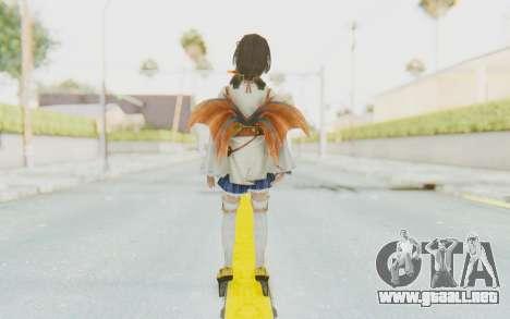 Toukiden: Kiwami - Hatsuho para GTA San Andreas tercera pantalla