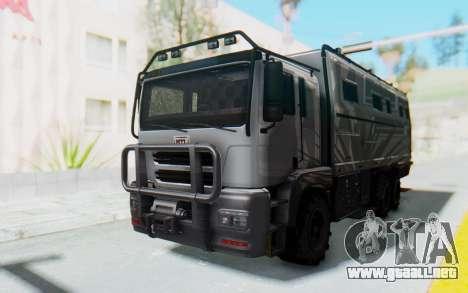 GTA 5 HVY Brickade IVF para la visión correcta GTA San Andreas
