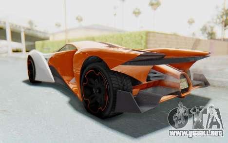 GTA 5 Grotti Prototipo v1 IVF para la visión correcta GTA San Andreas
