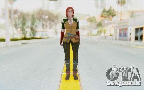 Triss Merigold para GTA San Andreas segunda pantalla