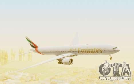 Boeing 777-300ER Emirates para GTA San Andreas