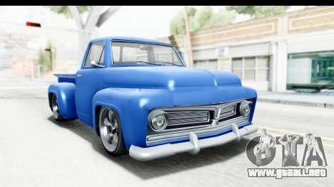 GTA 5 Vapid Slamvan without Hydro IVF para GTA San Andreas