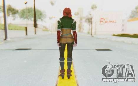 Triss Merigold para GTA San Andreas tercera pantalla
