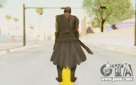Dead Or Alive 5 Last Round - Raidou para GTA San Andreas tercera pantalla