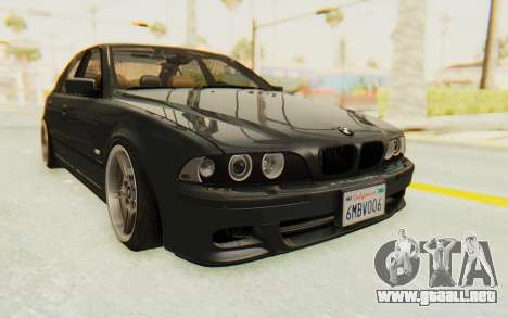 BMW M5 E39 M-Tech USDM para la visión correcta GTA San Andreas