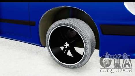 Peugeot 406 Cabrio Beta 0.8.3 para GTA San Andreas vista hacia atrás