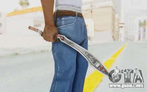 Nata Weapon para GTA San Andreas