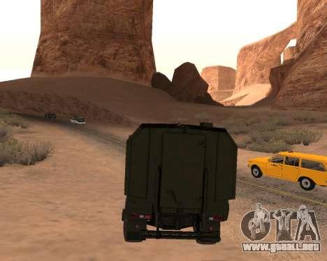 KAMAZ 63968 Tifón para visión interna GTA San Andreas
