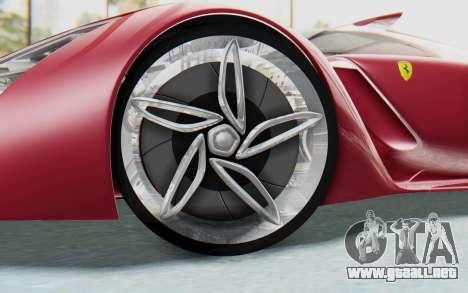 Ferrari F80 Concept para visión interna GTA San Andreas