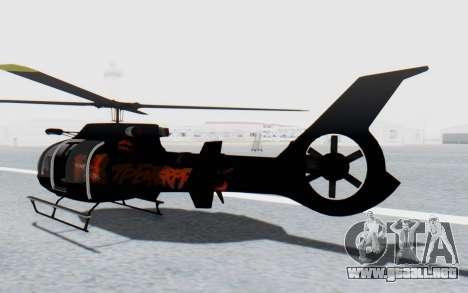 GTA 5 Maibatsu Frogger Trevor IVF para GTA San Andreas vista posterior izquierda