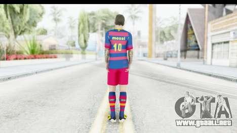 Lionel Messi para GTA San Andreas tercera pantalla