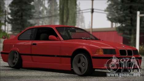 BMW E36 Stance para GTA San Andreas left