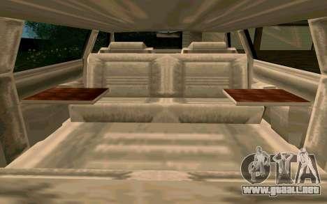 Tahoma Limousine v2.0 (HD) para vista lateral GTA San Andreas