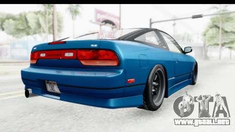 Nissan 240SX 1989 v2 para la visión correcta GTA San Andreas