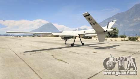 GTA 5 MQ-9 Reaper UAV 1.1 tercera captura de pantalla