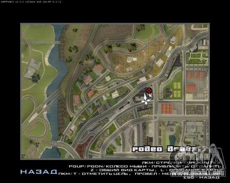 Armenia Erevan Poster para GTA San Andreas quinta pantalla