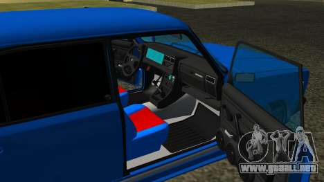 VAZ 2107 Deporte para vista lateral GTA San Andreas