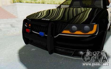 ASYM Desanne XT Pursuit v2 para la vista superior GTA San Andreas