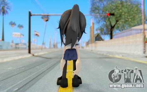 Yandere-Chan The Hedgehog para GTA San Andreas tercera pantalla