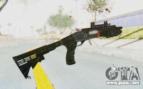 M870 from Rainbow Six: Siege para GTA San Andreas segunda pantalla