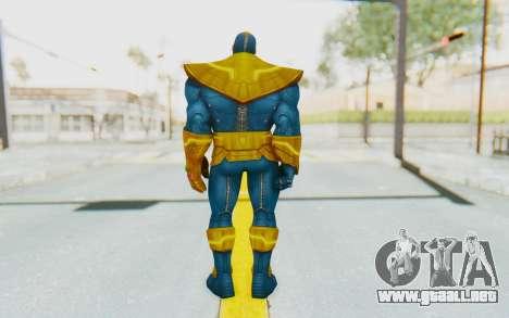 Marvel Future Fight - Thanos para GTA San Andreas tercera pantalla