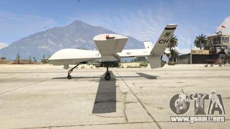 GTA 5 MQ-9 Reaper UAV 1.1 segunda captura de pantalla