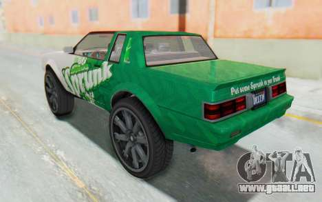 GTA 5 Willard Faction Custom Donk v3 para GTA San Andreas