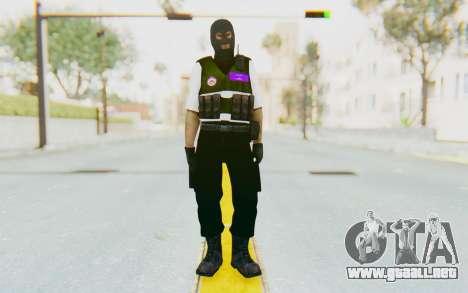 Bahrain Defense para GTA San Andreas segunda pantalla