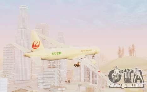 Boeing 777-300ER Japan Airlines v1 para GTA San Andreas left