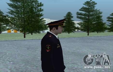 General del Ministerio para GTA San Andreas tercera pantalla