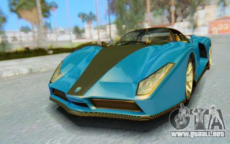 GTA 5 Grotti Cheetah SA Lights para GTA San Andreas left