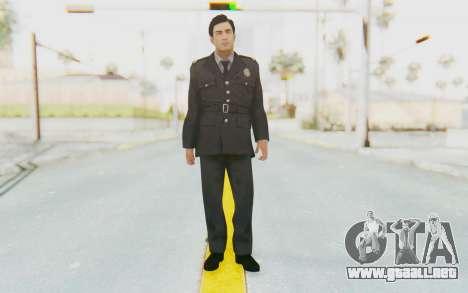 Mafia 2 - Vito Police Outfit para GTA San Andreas segunda pantalla