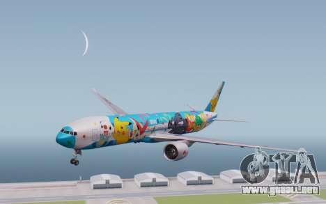 Boeing 777-300ER ZK-OKR para GTA San Andreas